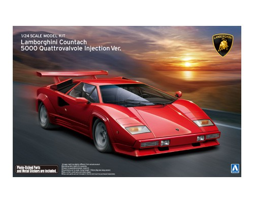 Lamborghini Countach 5000 Quattrovalvole Injection Ver
