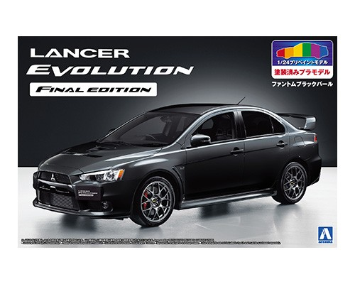Aoshima SP 1//24 Mitsubishi Lancer Evolution X Final Edition EVO X CZ4A Model Kit