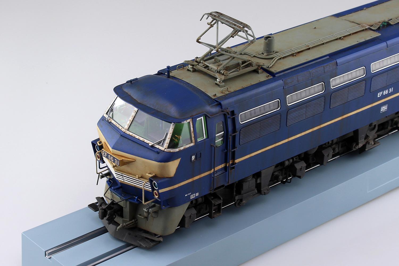 Aoshima 1//45 EF66 Electric Locomotive OJ No.4 Late Model # 054079